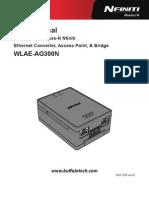 USERMANUAL WLAE-AG300N