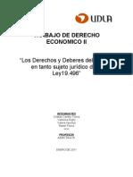 Trabajo de Derecho Economico II