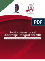 Politica Interna Abordaje VIHPDDH