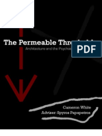 Cameron White - The Permeable Threshold