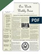 Newsletter Volume 3 Issue 43