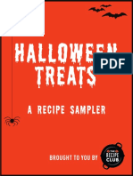 Halloween Recipe Sampler from The Recipe Club