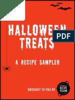 Halloween Recipe Sampler from The Recipe Club