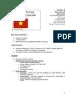 Tertiary Education in Vietnam