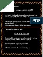 Invitacion - Halloween