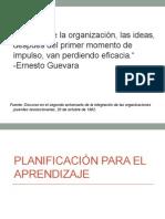 Planificación para el Aprendizaje