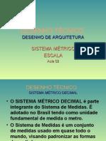 Apresentação - Sistema Métrico - Escala1 aula 2