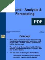 4 Demand - Analysis & Forecasting