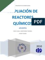 APUNTES DE AMPLIACIÓN DE REACTORES QUÍMICOS