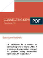 Presentation on Connecting Devices- Hub, Repeater, Switch, Bridge, Router, Gateway