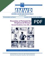 Prevención de la enfermedad perinatal por Streptococcus agalactiae
