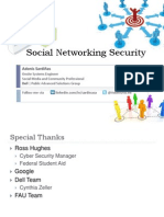Social Networking Security
