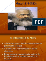 Karl Marx (1818-1883)(1)