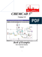 CHEMCAD 5.1.3 Example Book Printable)