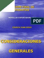 INFORME FINAL DE PASANTÍAS