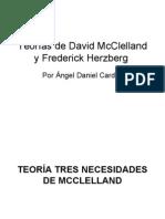 Teoria De Tres Necesidades De Mcclelland