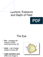 Aperture_ Exposure and Depth of Field