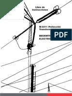manual protección de transformador