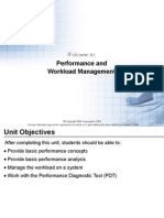 Performance and Workload Management