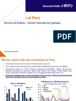 La Mineria en El Peru