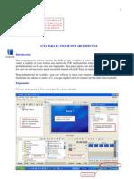 Guia Para El Uso de Dvd Architect