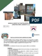 Manual Instalacion de Faena Minimas en Obra