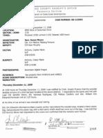 Casey Anthony - Crime Scene Report