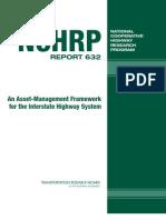 NCHRP Report 632 Asset Management Framework