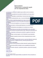 Urgencias en Medicina Paliativa