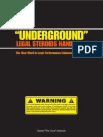 Underground Legal Steroids