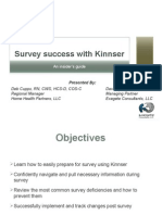 Survey Sucess with Kinnser
