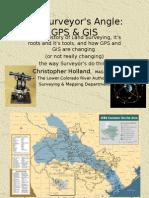 Surveyors Angle GPS GIS