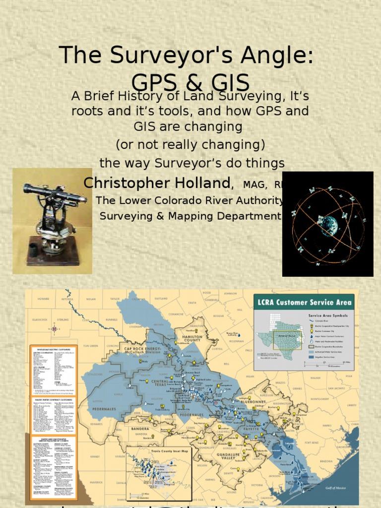 Surveyors Angle GPS GIS | Surveying | Geographic Information System