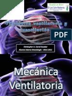 Mecanica ventilatoria y ventilación pulmonar