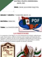 Constituciones de Mexico Omar