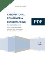 Calidad Total Reingenieria Bench Marking
