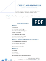 Curso de Grafologia aplicada en la Selección de Personal.