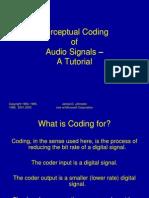 Perceptual Coding