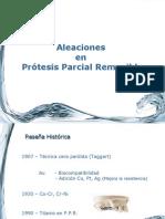 Teorico PPR -Aleaciones y Colado