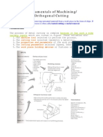Fundamentals of Orthg Cutting