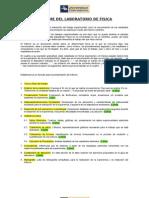Procedimiento de Redaccion Del Informe LABFIS