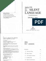 Edward Hall Silent Language