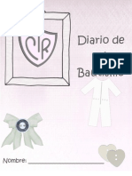Diario de mi bautismo para niñas (by MJo)