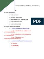Hematologia I Anemias