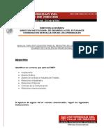 Manual Para Estudiantes Exep Registro en Linea