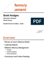 Java Memory Management Hodges