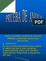 PRUEBA DE ANOVA