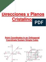 1.3.1- Planos y Direcciones Critalinas