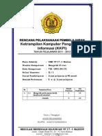 RPP KKPI Tk X SK 1Mengetik 10 Jari