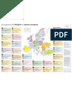 Mapa Religion Europa